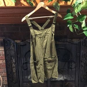 Green Short Overalls!
